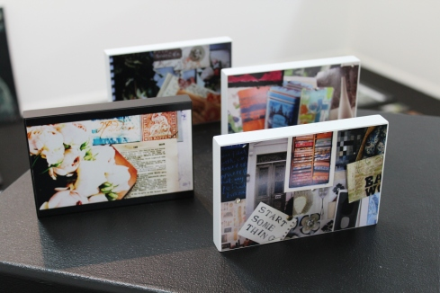 ehibition photo blocks