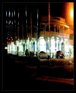 Len Lye at night