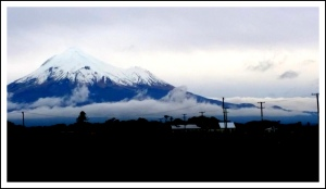 Mount Taranaki today